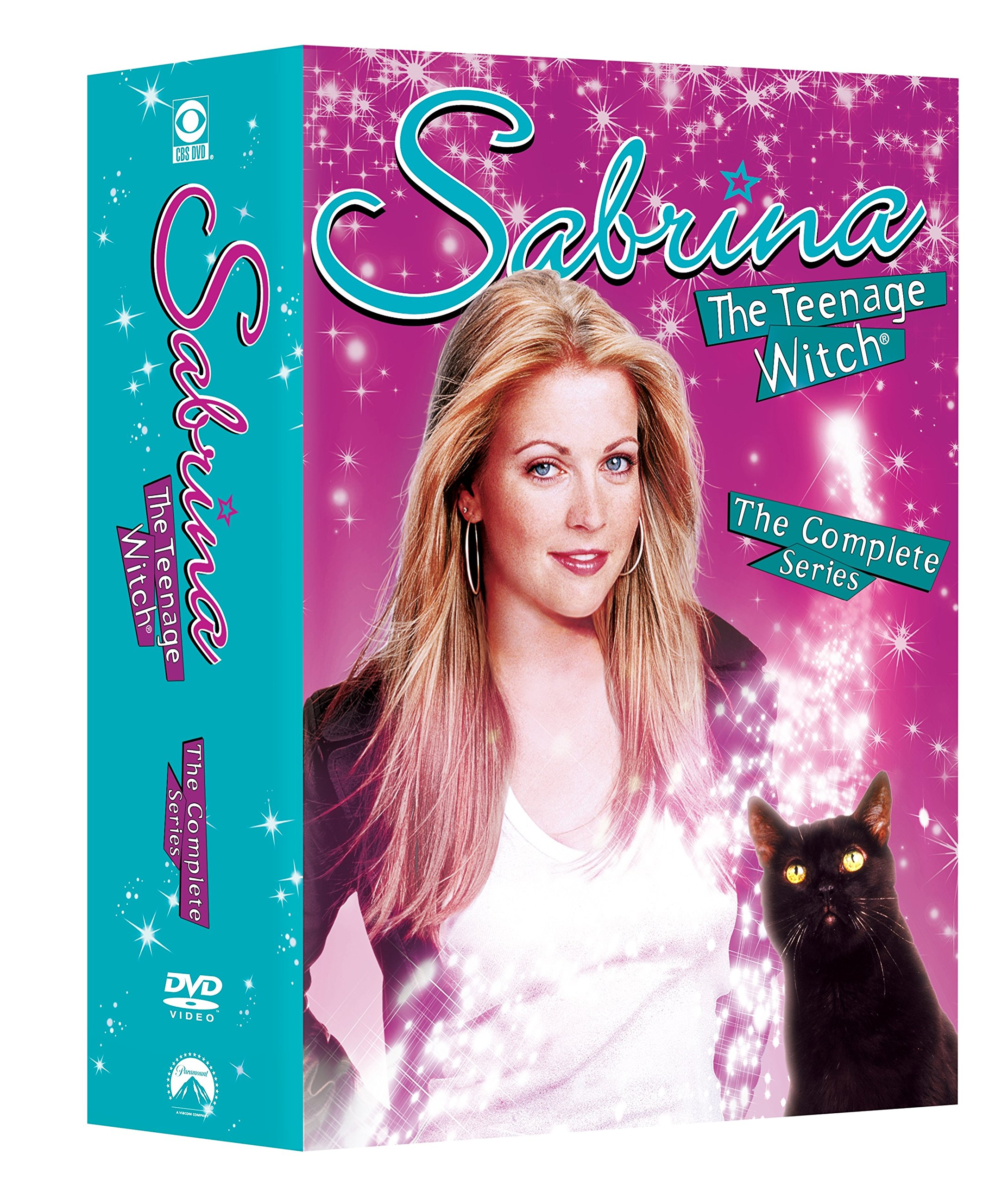 DVD : Sabrina The Teenage Witch: The Complete Series (Full Frame, Boxed Set, 24 Disc, Sensormatic)