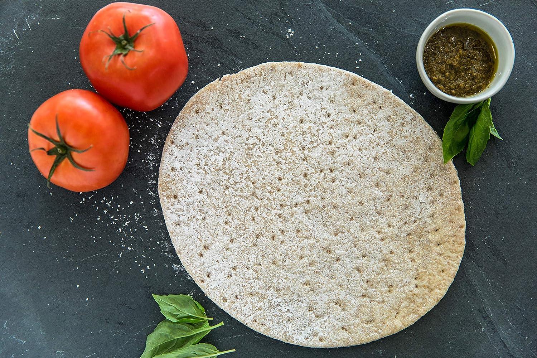 Nuevos granos Gluten libre Pizza Crusts, (2 paquetes de 3 ...