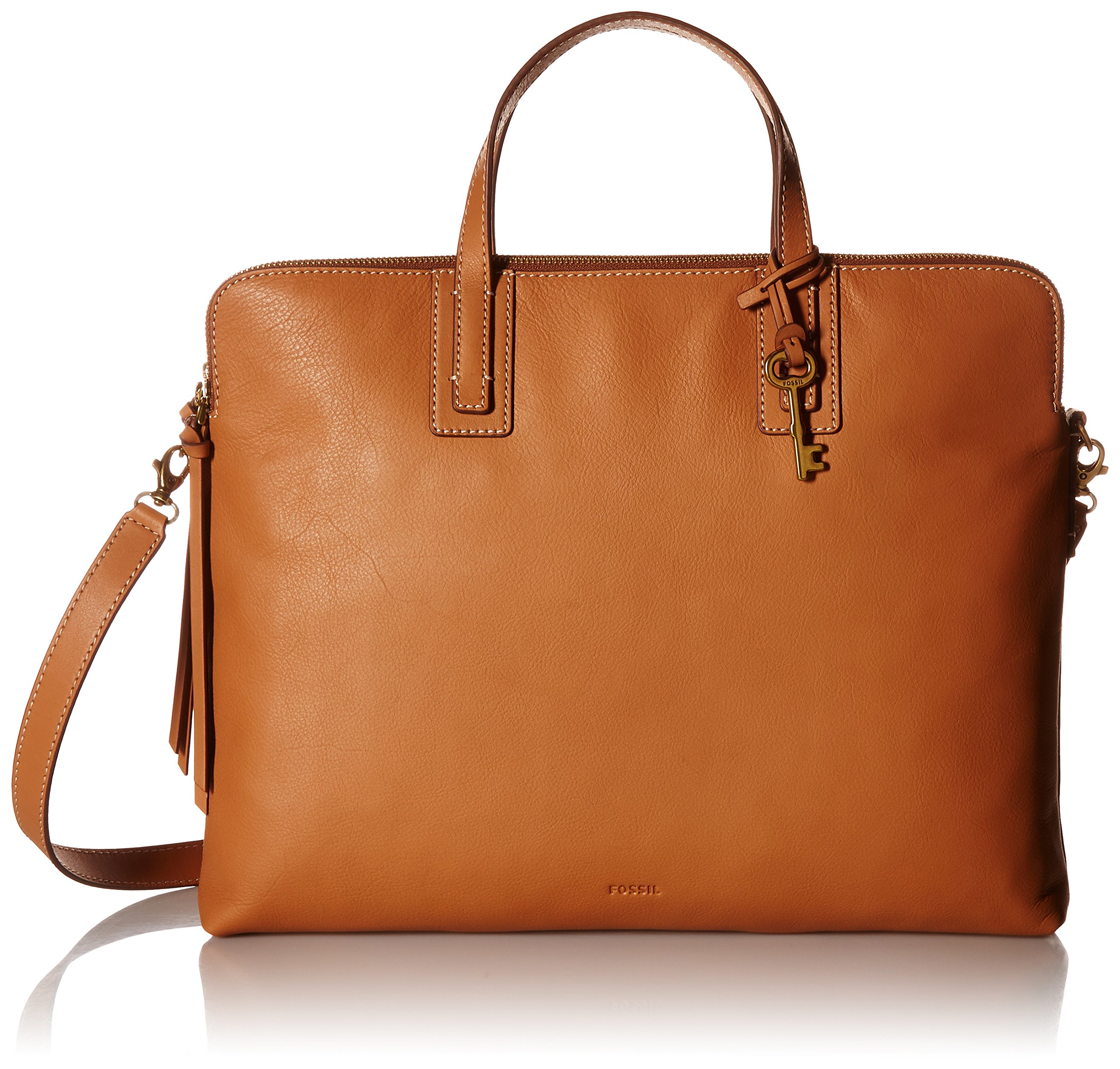 Fossil Emma Laptop Bag, Tan, One Size by Fossil