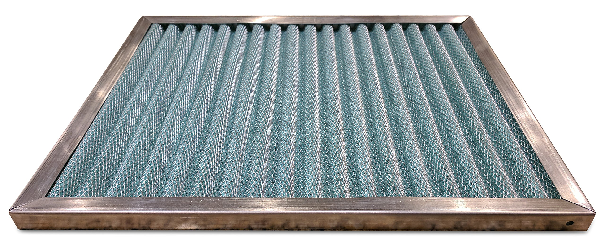 Permanent Air Filter Replacement | Permafoam | Washable | HVAC Conditioner Purifier | Purify Allergens for Cleaner, Healthier Home Environment | Easy to Install | Made in The USA (16x25x1) by Trophy Air