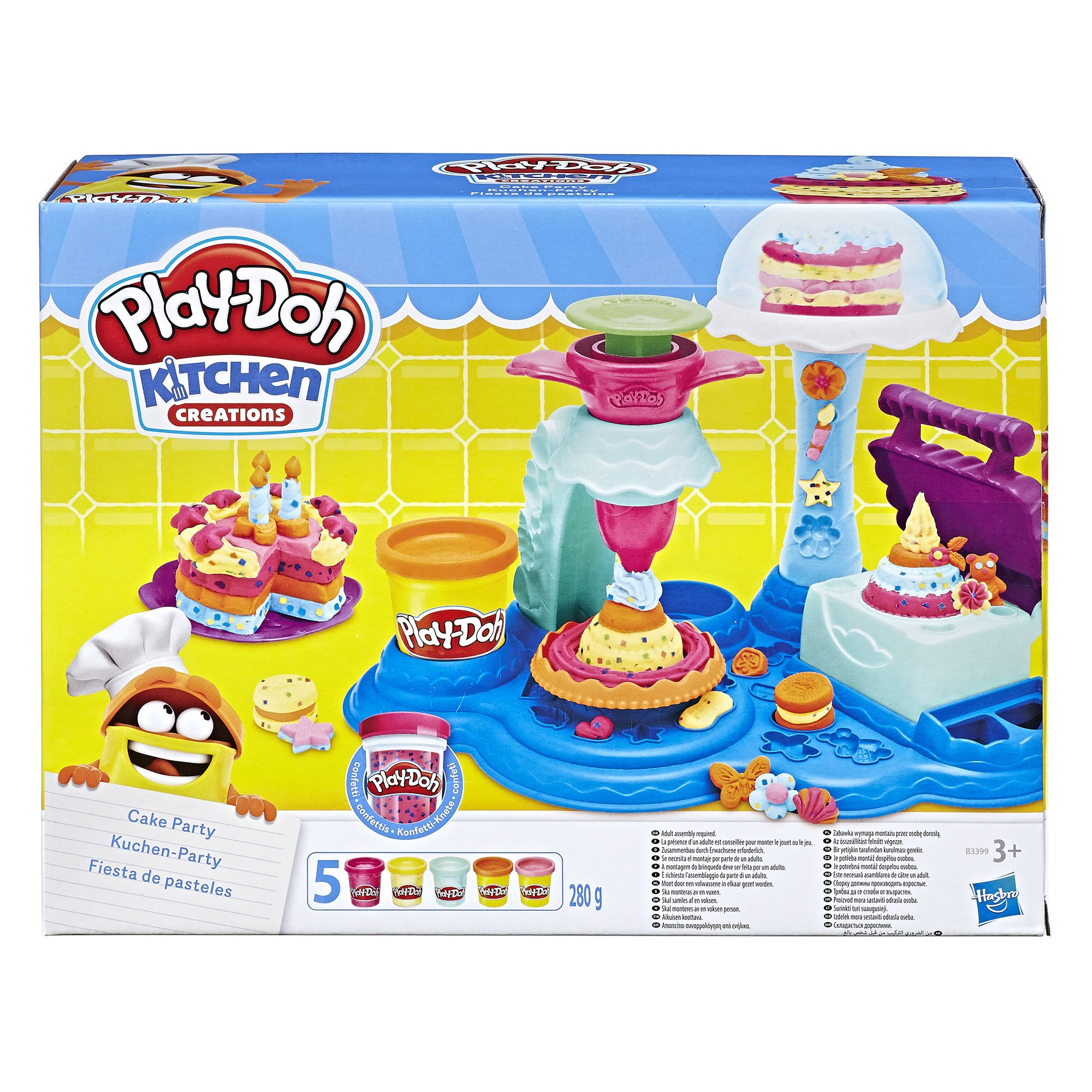 Play-Doh Cake Party by Play-Doh