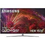 """Samsung QLED 2018 65Q8FN - Smart TV Plano de 65"""", 4K UHD resolución, HDR 1500, Control One Remote Premium, One Connect + Cable Invisible, versión española, Color Plata"""