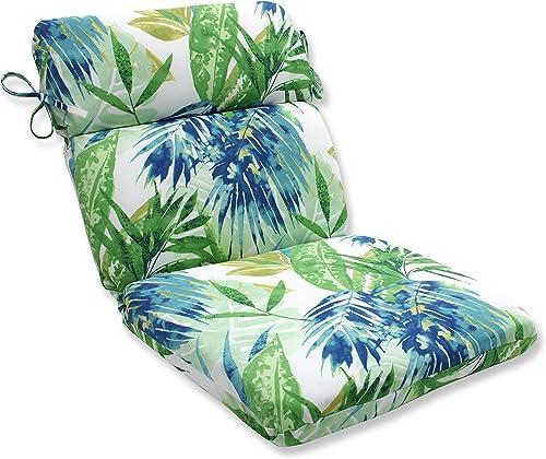 Pillow Perfect Outdoor/Indoor Soleil Round Corner Chair Cushion