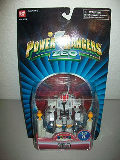 "MOC Power Rangers Zeo Evil Space Alien 5/"" Clawing Mace Face By Bandai Villain"