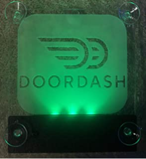 Amazon com: LED Lighted Car Top Sign and Full ColorDesign For Door