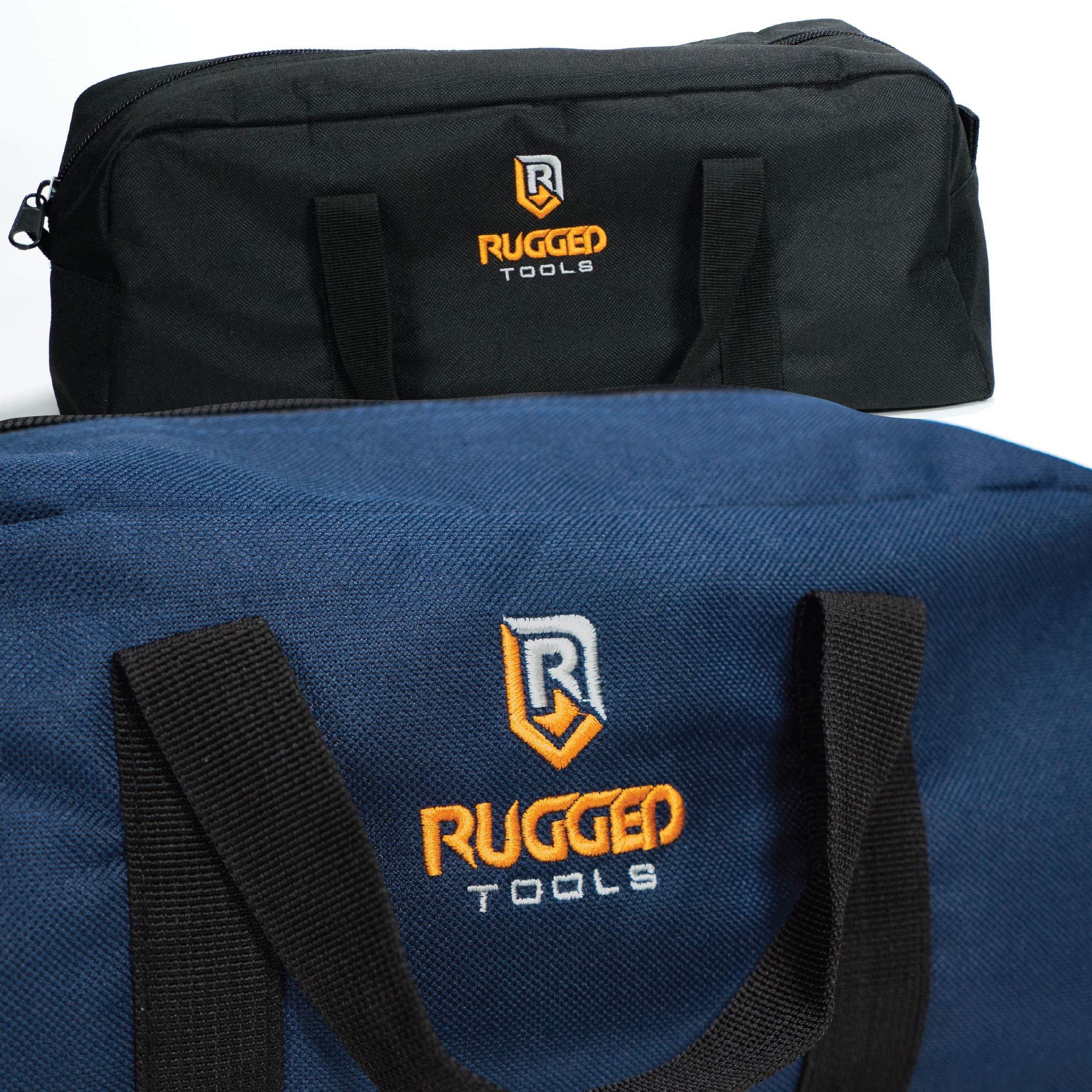 Rugged Tools Tool Bag Combo - Includes 1 Small & 1 Medium Toolbag - Organizer Tote Bags for Electrician, Plumbing, Gardening, HVAC & More by Rugged Tools (Image #3)