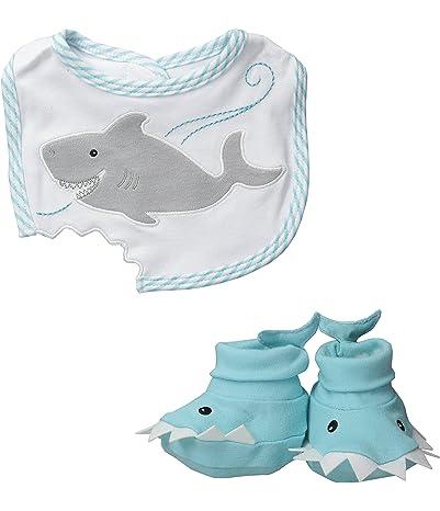 Baby Aspen Bib and Booties Gift Set , Chomp
