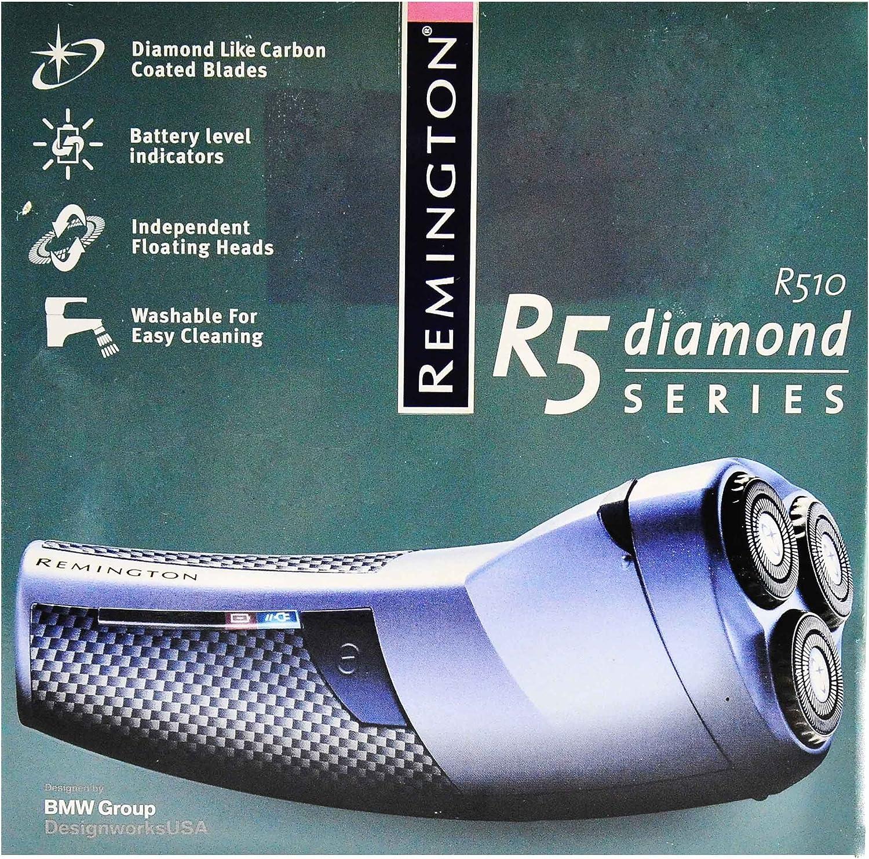 Afeitadora Remington Rotary dyamond R5 recargable: Amazon.es: Hogar