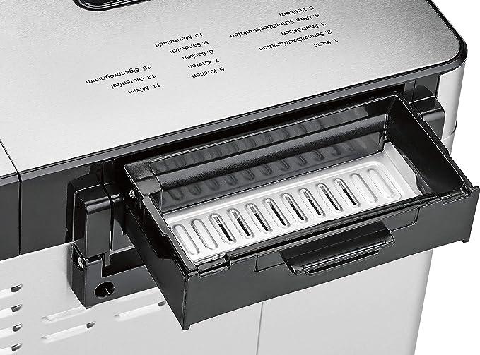 Profi Cook Brotbackautomat PC-BBA 1077 acero fino: Amazon.es: Hogar