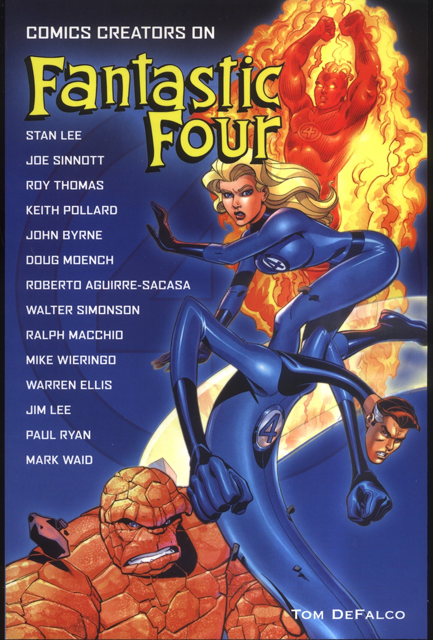 Comics Creators on Fantastic Four by Titan Books