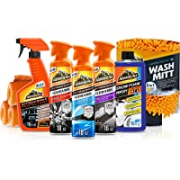 Armor All Ultimate Car Detailing Kit (9 Items) – Ceramic Glass Cleaner, Car Wash, Wheel and Tire Cleaner, UV Protectant…