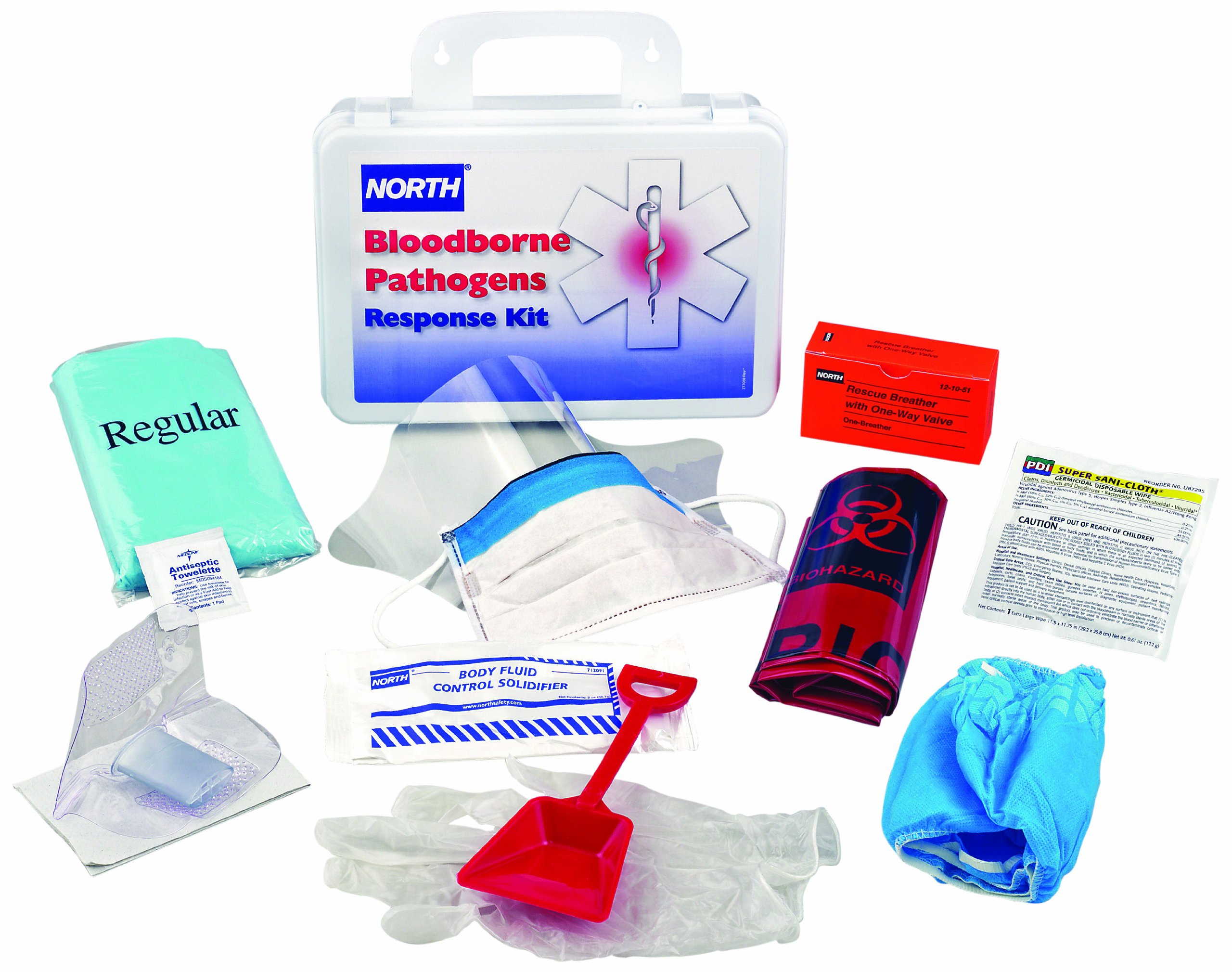North by Honeywell 019745-0032L Response Kit withCPR (127011) Plastic 16 unit Case.