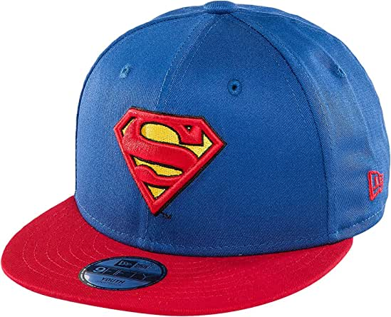 A NEW ERA Era Essential 9Fifty Superman Gorra, Infantil, Azul, 6 ...