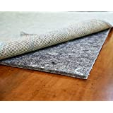 """RUGPADUSA - Dual Surface - 10'x14' - 1/4"""" Thick - Felt + Rubber - Non-Slip Backing Rug Pad - Adds Comfort and Protection…"""