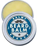 Balmy Beards Best Premium Beard Balm and Leave In Conditioner and Wax - all Natural Organic Beard and Mustache Softener - Styles, Strengthens and aids Hair Growth