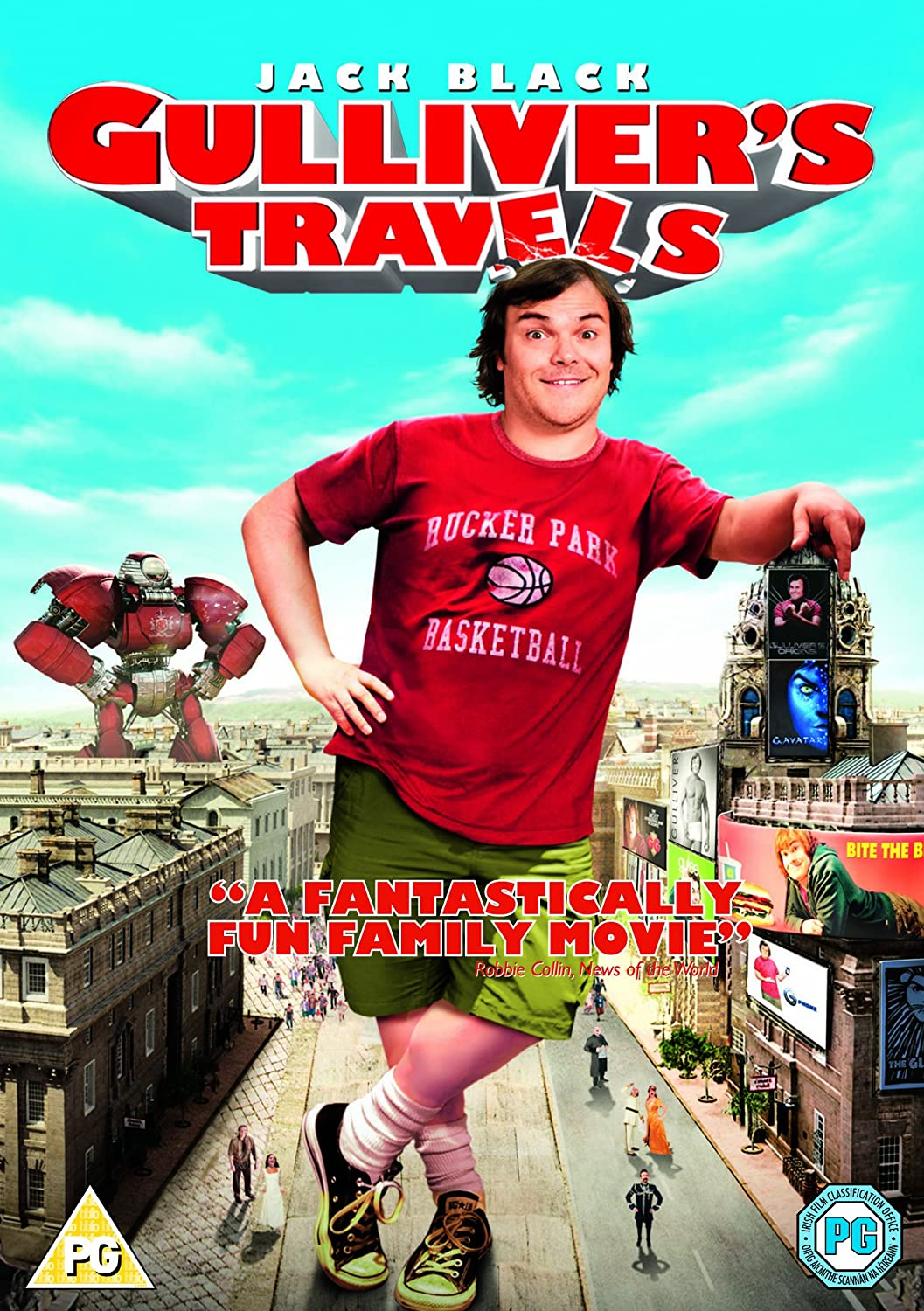 Gulliver's Travels [2010] 720p BRRip [Dual Audio] [English + Hindi 5.1] x264