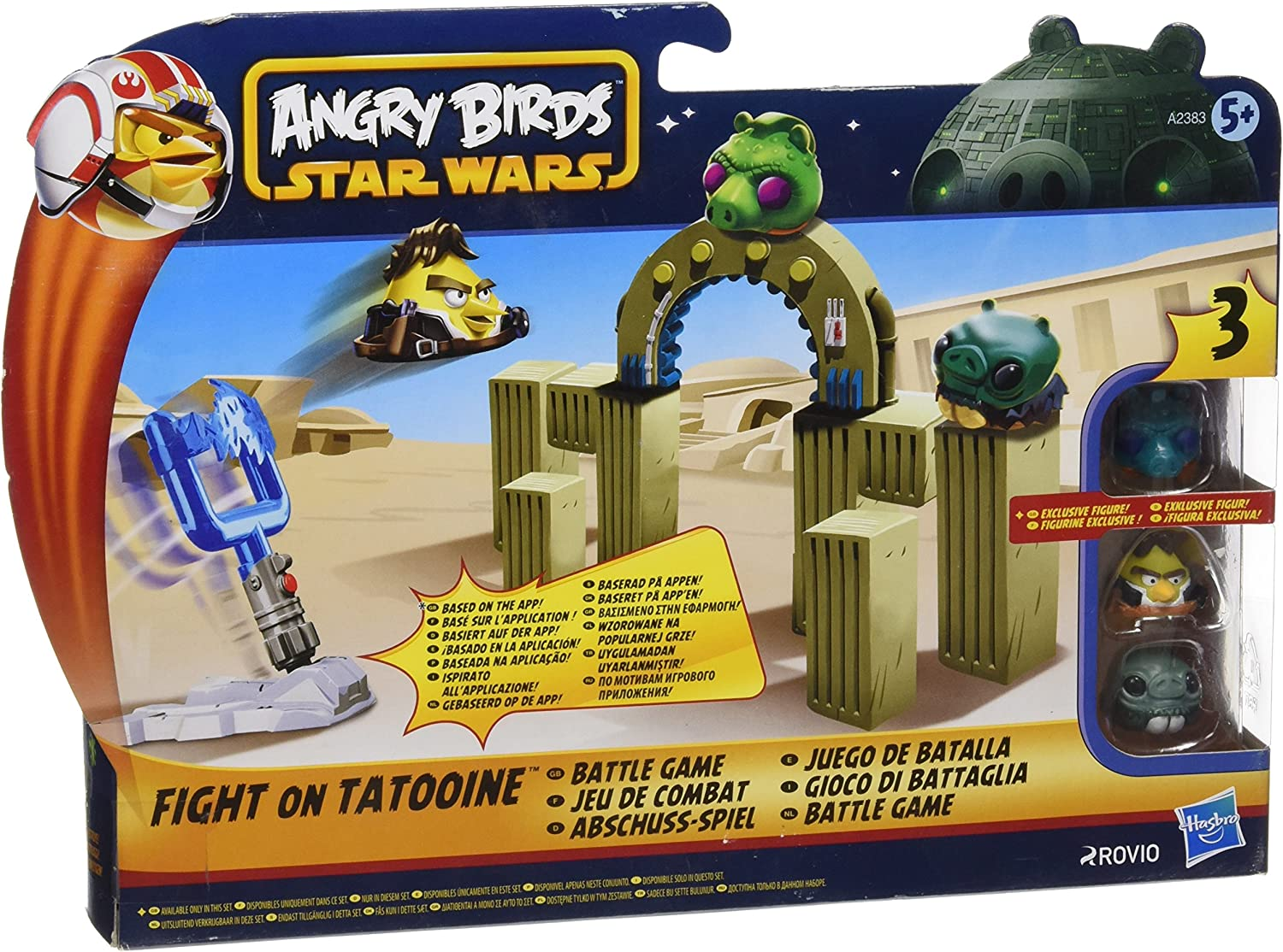 Star Wars Angry Birds - Juego de batalla, surtido: modelos aleatorios (Fight on Tatooine, Jabba's Palace, Darth Vader's Lightsaber)