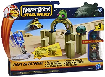 Angry Birds Star Wars Toys : Angry birds star wars u cjabba s palace battle gameu d by hasbro
