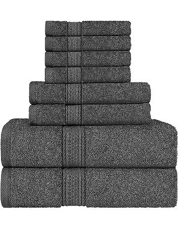 Beige serviette Ensembles 100/% Coton Serviette Bale 500 GSM salle de bains 2 3 4 6 pièce ensembles