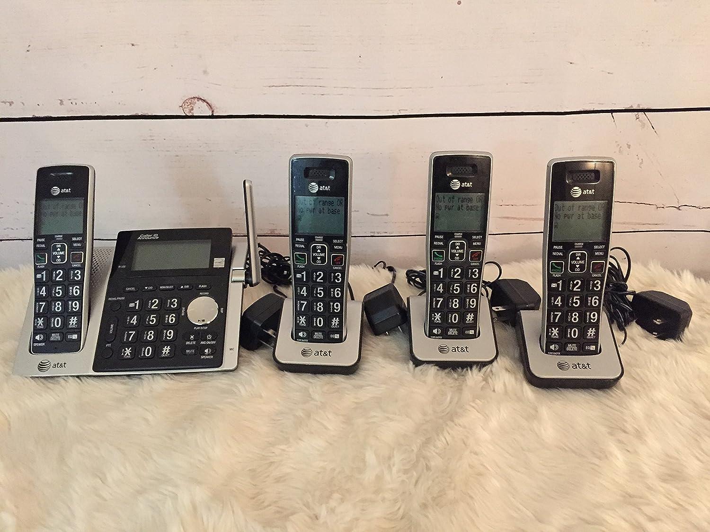 AT&T - Sistema de teléfono inalámbrico: Amazon.es: Electrónica