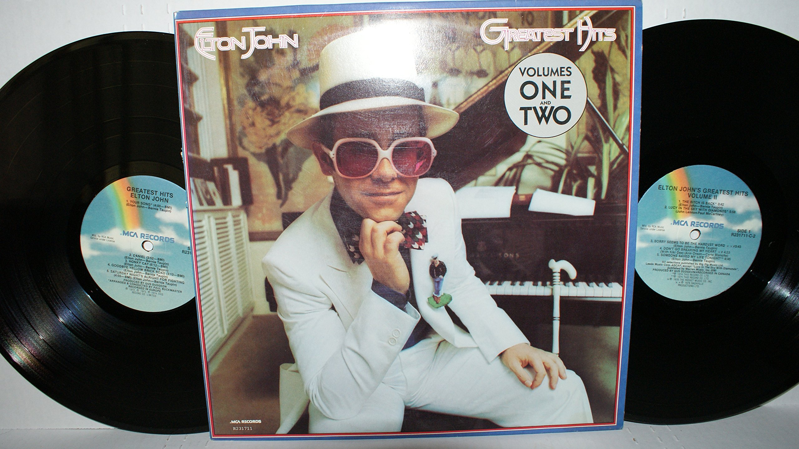 Elton John Greatest Hits Volumes One and Two by MCA