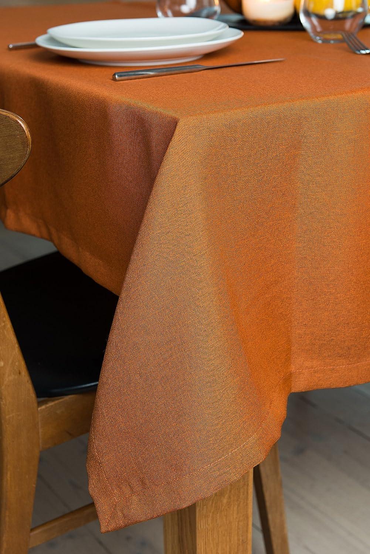 Rollmayer abwaschbar Tischdecke Wasserabweisend Lotuseffekt (Melange Rot 35, 150x350cm) 150x350cm) 150x350cm) Leinenoptik Tischtuch mit pflegeleicht Fleckschutz, Rechteckig, Farbe & Größe wählbar B076ZV23YT Tischdecken 7f975c