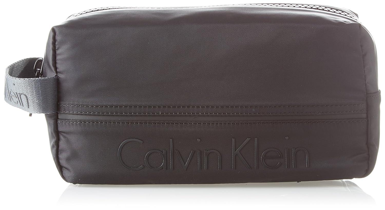 Calvin Klein Matthew 20 Wash Bag Organiseurs de sacs à main homme Noir (Black) 13x16x28 cm (B x H T) K50K503706