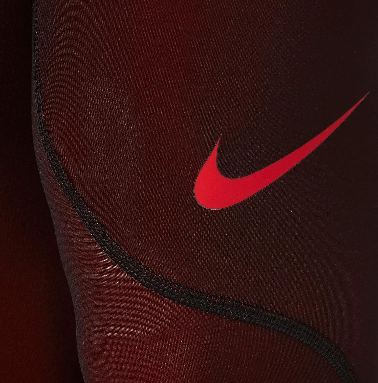 Amazon.com: Nike Men s Pro 3/4 Medias, M, Rojo universidad ...