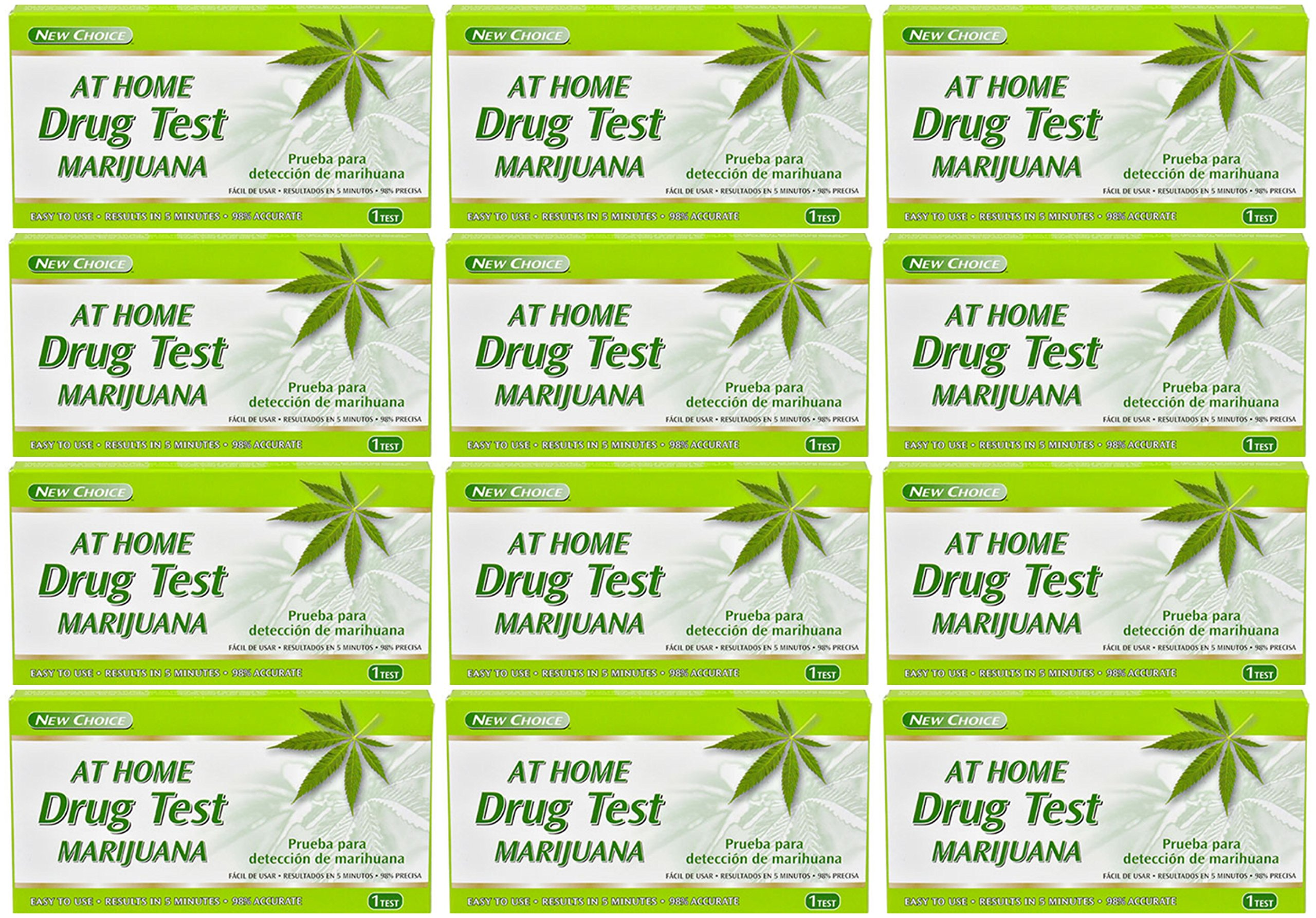 Lot of 12 Kits Assured At Home Marijuana Drug Tests