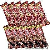 アサヒグループ食品 1本満足バー シリアル アソート 選べる2種類の味 食べ比べセット 各6本 計12本(ホワイト、チョコ、ブラック、苺) (チョコ&イチゴ)
