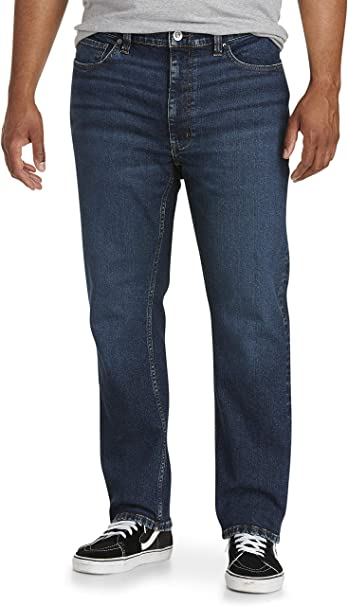 Essentials Mens Big and Tall Loose-fit Stretch Jean