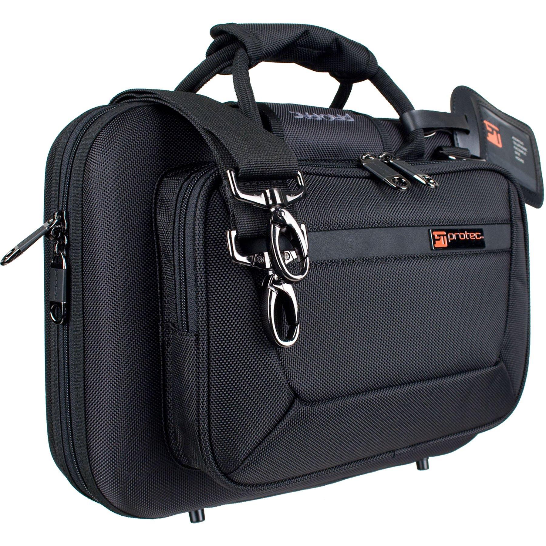 Protec Bb Clarinet Slimline PRO PAC Case, Black, Model PB307 by ProTec
