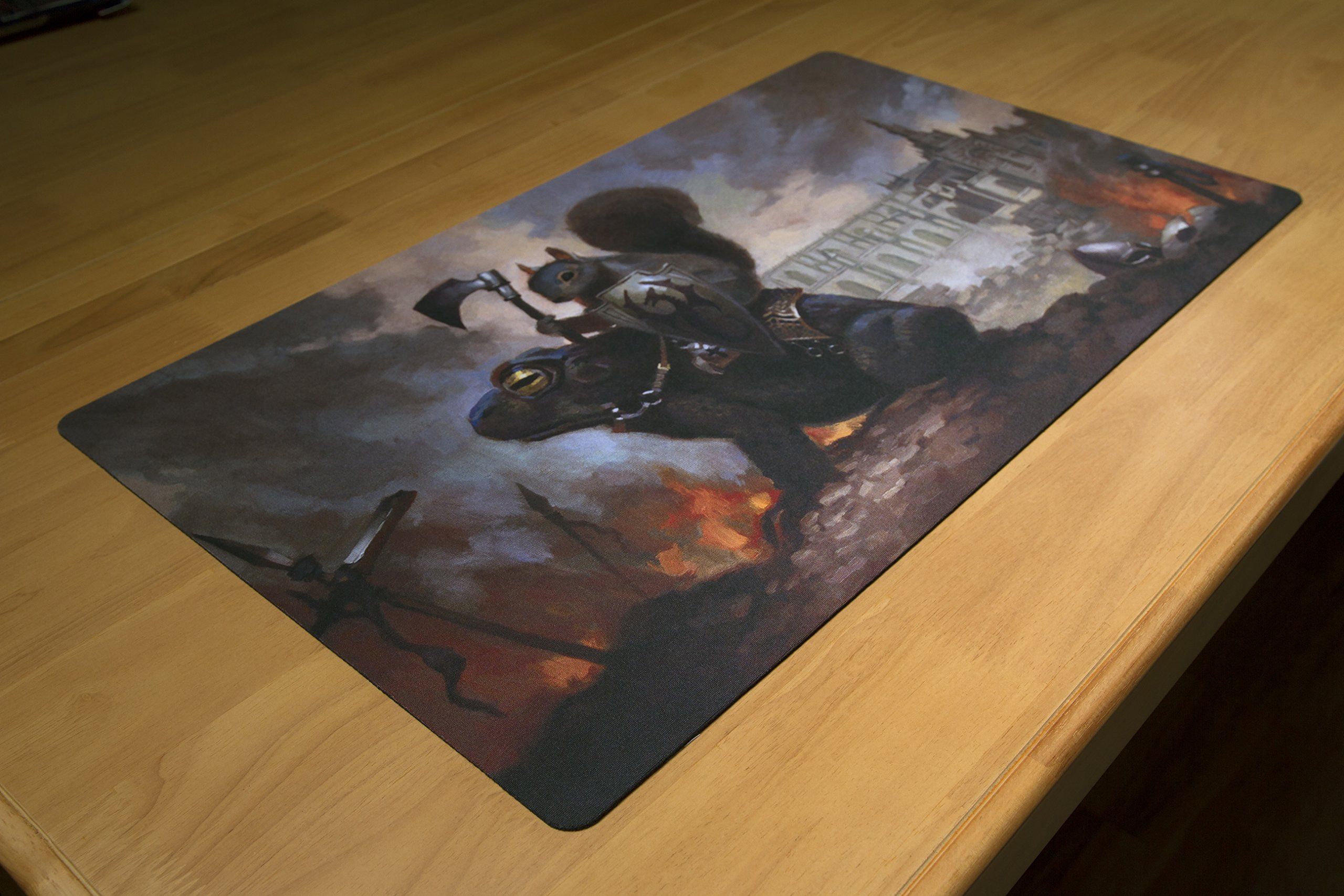 Inked Playmats Toad Rider Playmat Inked Gaming Perfect for Card Gaming TCG Game Mat by Inked Playmats (Image #4)