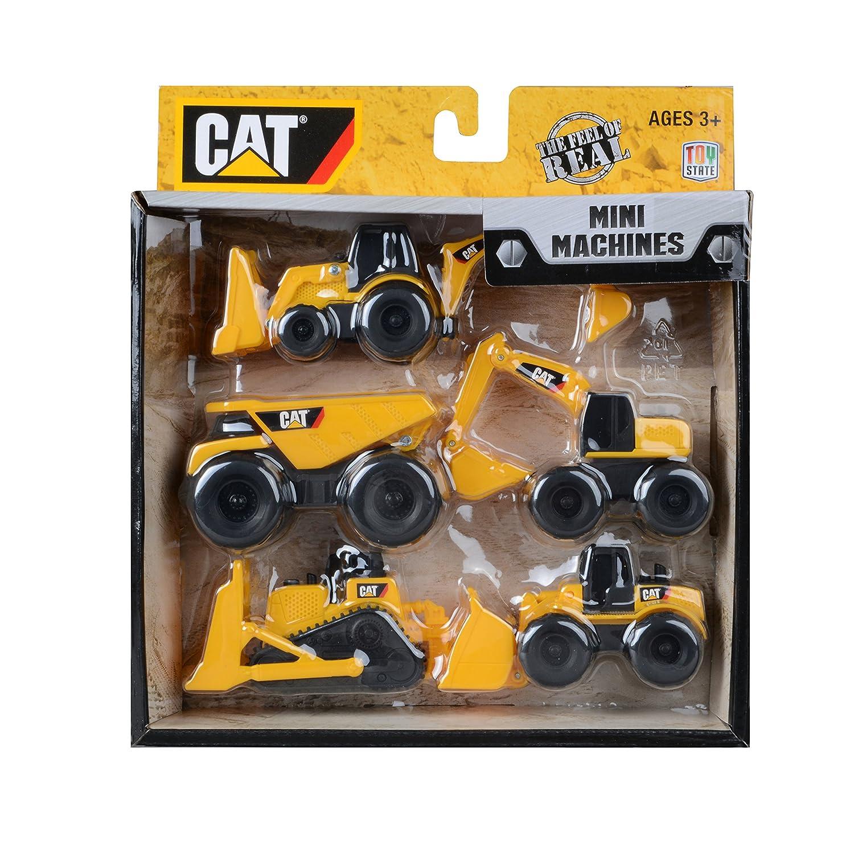 CAT Vehículo de obras públicas y construcción Mini Machine Pack