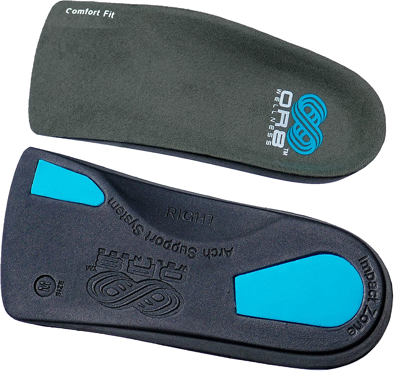 High Performance Features EXTRA BALL OF FOOT IMPACT PAD. Flat Feet /& Plantar Fasciitis Arch Support Weak /& Fallen Arches Orthotic /¾ Insoles Comfort Fit
