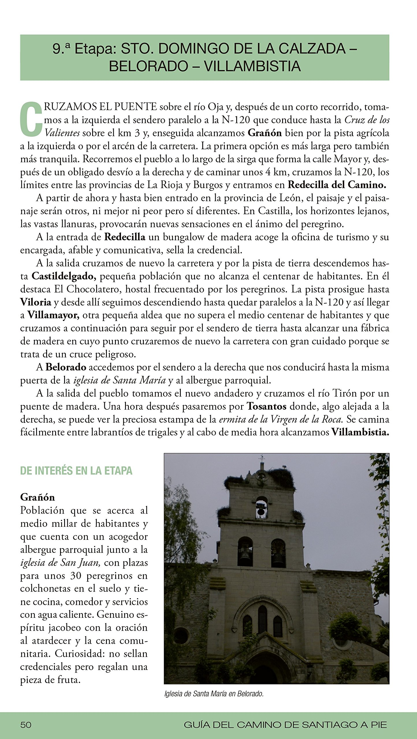Guía del Camino de Santiago a pie: José Manuel Somavilla Fernández ...