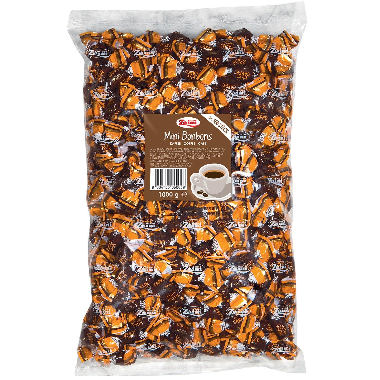 Zaini Mini Bonbons Kaffee 1000g