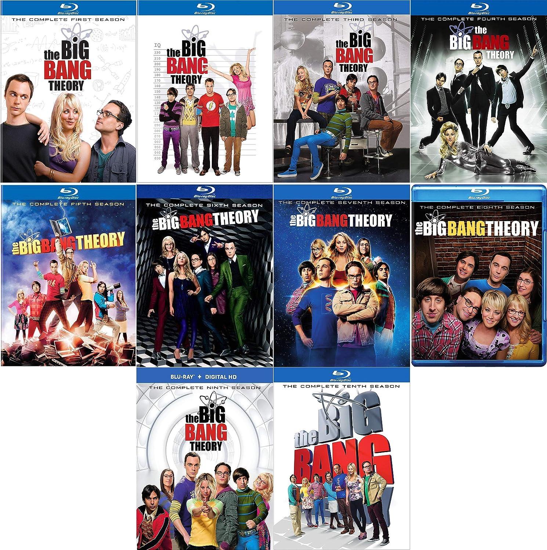 The Big Bang Theory: TV Series Seasons 1-10 Blu-ray Collection