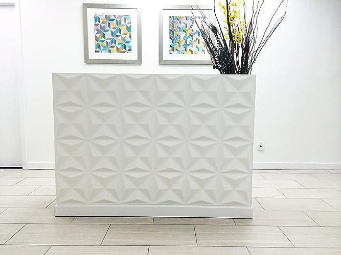 Amazon.com: Reception Desk, White Reception Desk, Modern ...