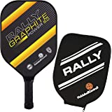 Pickleball Paddle - Rally Graphite Power 5.0 | Honeycomb Core, Graphite/Polymer Hybrid Composite Face | Power, Control…