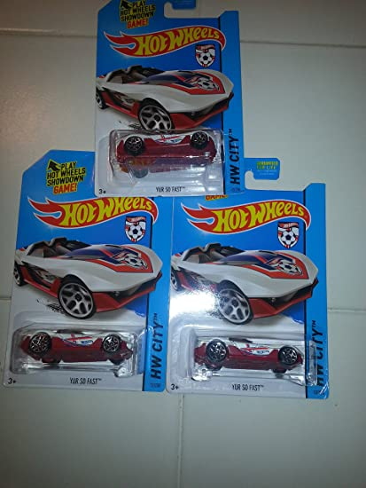 Scoopa Di Fuego Mattel Ships in a Box! 2014 Hot Wheels Hw City Mexico World Cup Soccer