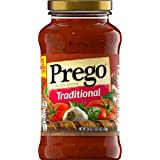 Prego Italian Sauce, Traditional, 24 Ounce (Pack of 6)