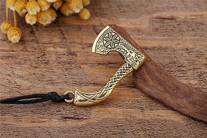 Teamer Colgante de cuerda con símbolo de Odín amuleto náutico para ...