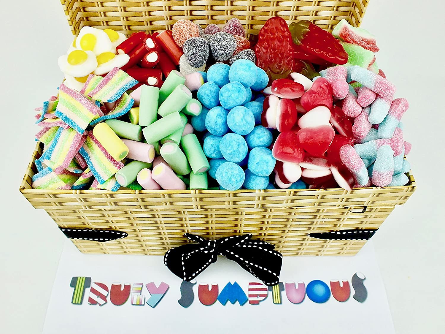 Truly sumptuous easter gift hampers the must have haribo hamper truly sumptuous easter gift hampers pick and mix luxury hamper 12kg of all your negle Choice Image