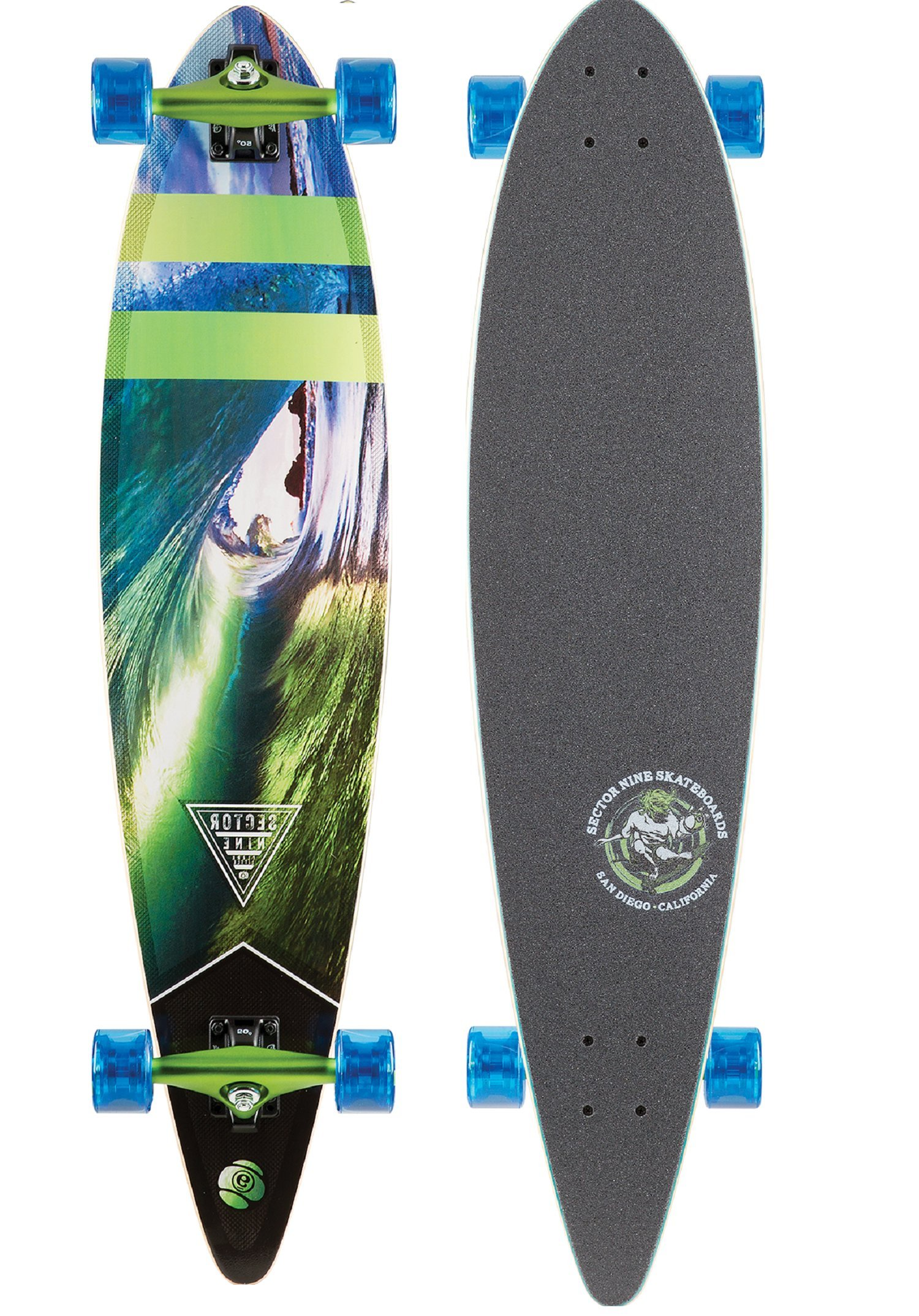 Sector 9 Classic Series Ledger 40'' Complete Longboard by Sector 9