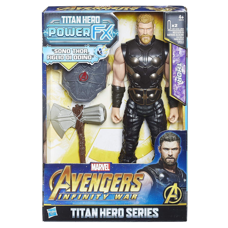 Marvel Avengers Infinity War Thor Titan Hero Power FX 30 cm di Hasbro  E0616103