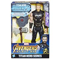 Hasbro Marvel Avengers Infinity War Thor Titan Hero Power FX (Personaggio 30cm, Action Figure), 30 cm, E0616103