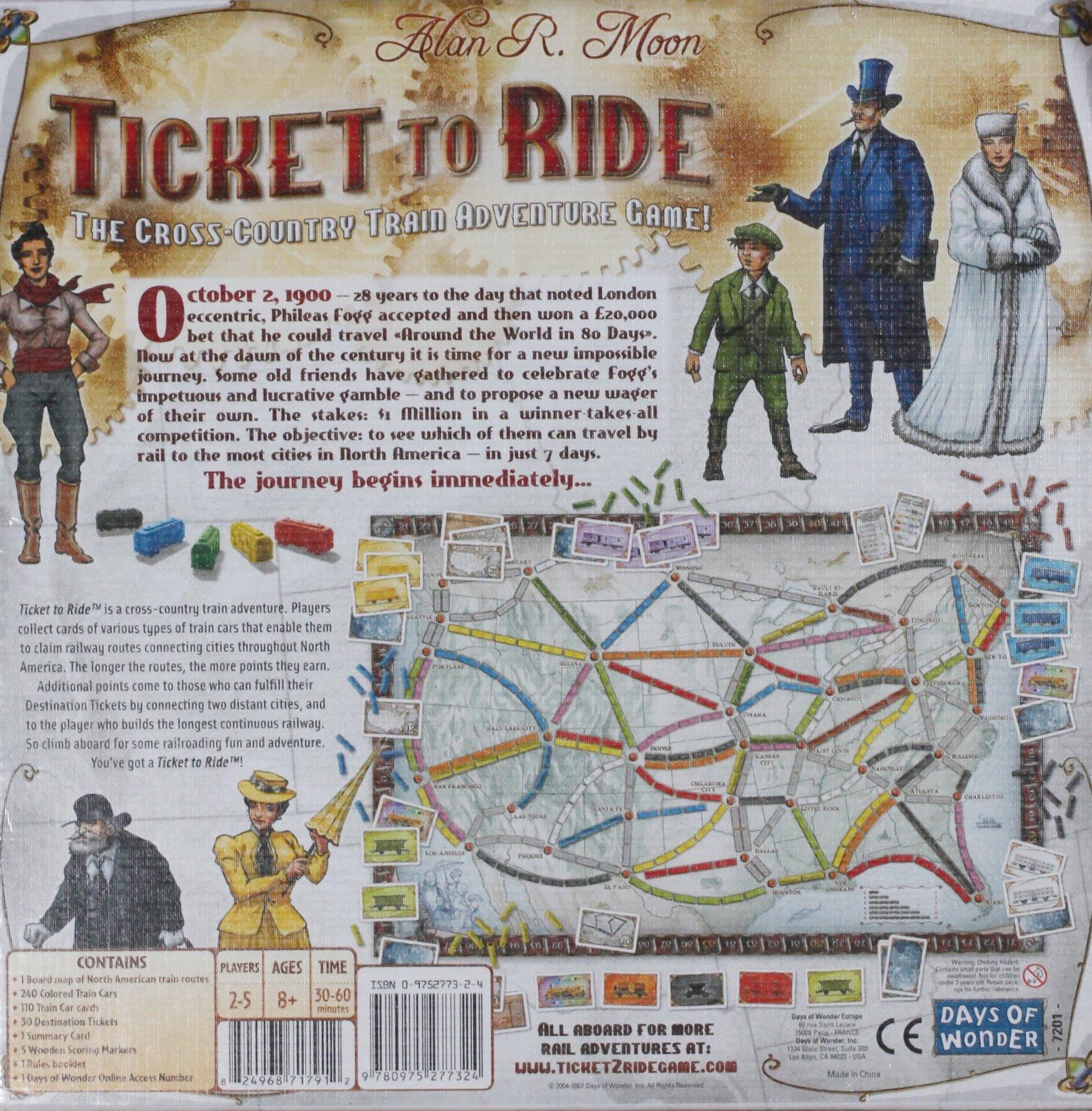 Days of Wonder Ticket To Ride by Days of Wonder (Image #2)