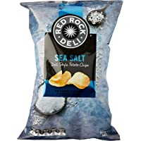 Red Rock Deli Sea Salt Potato Chips, 12 x 165 Grams