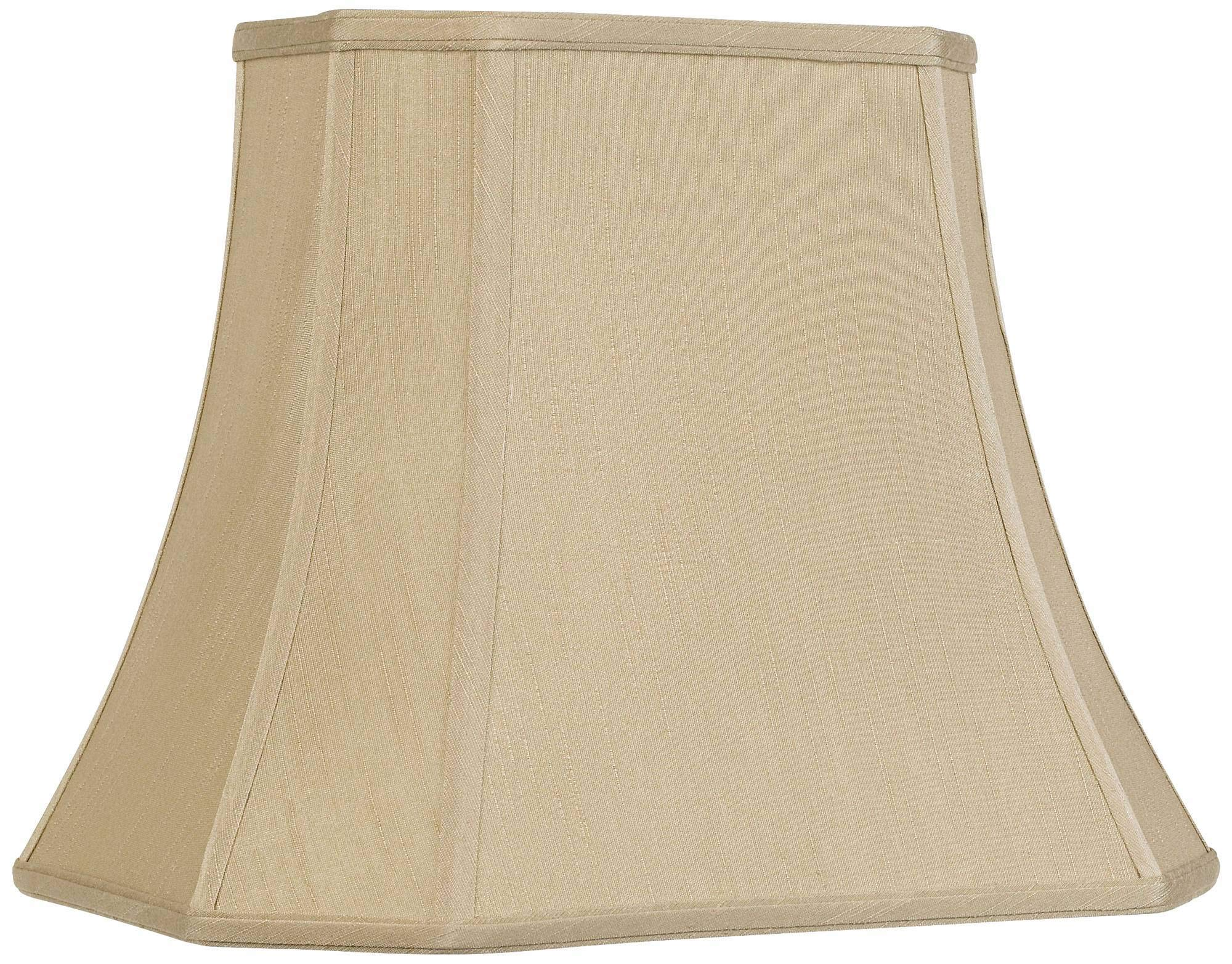 Imperial Taupe Rectangle Cut Corner Shade 10x16x13 (Spider) - Imperial Shade